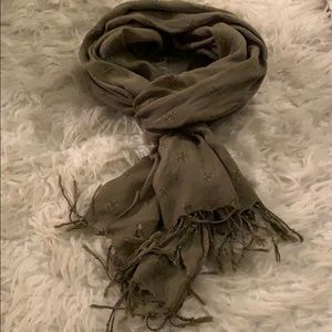 Olive Green Scarf